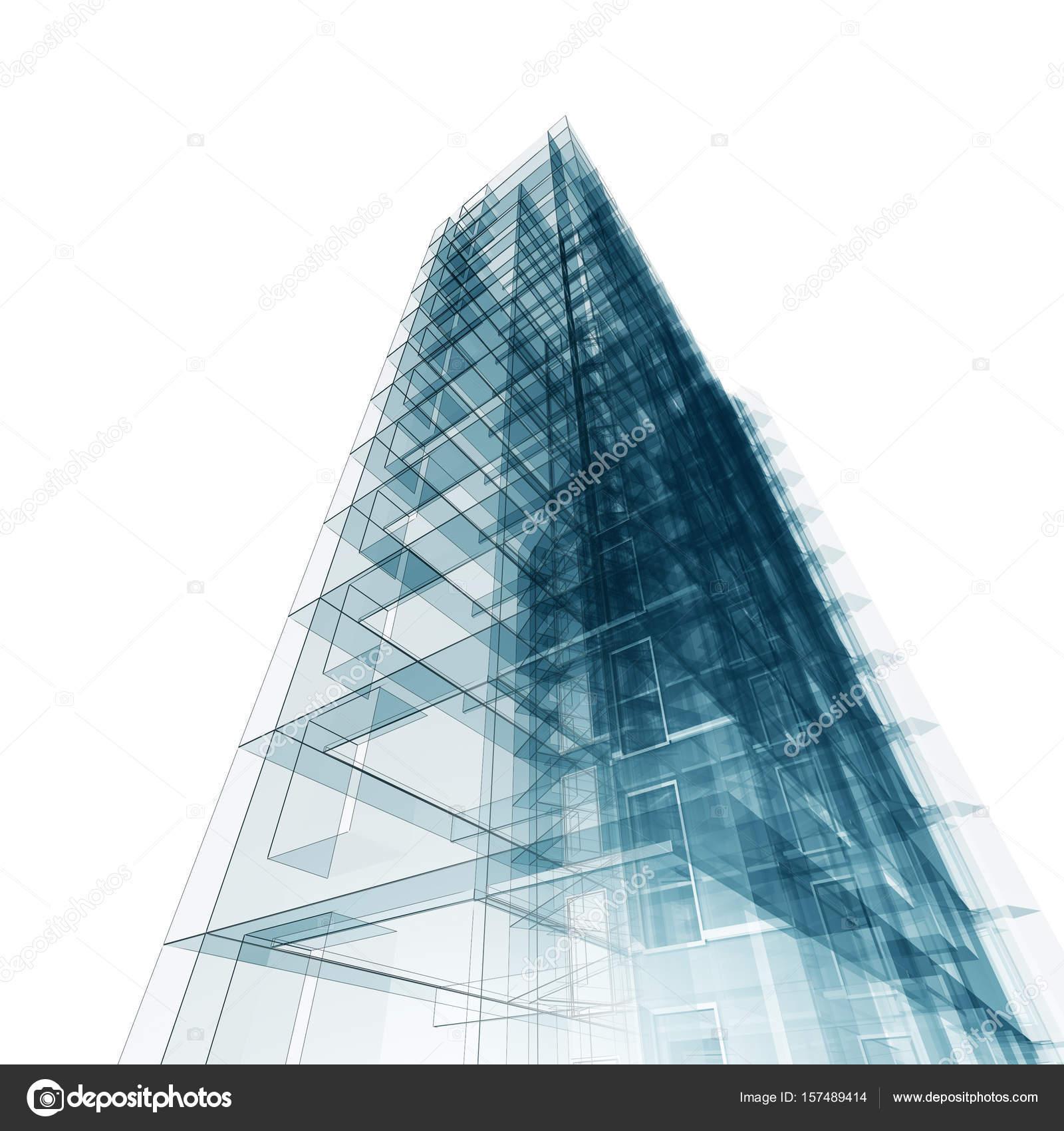 Delightful Modernes Gebäude. Architektur Design Und Mein Eigenes Modell U2014 Foto Von  1xpert