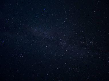 Galaxy night stars milky way