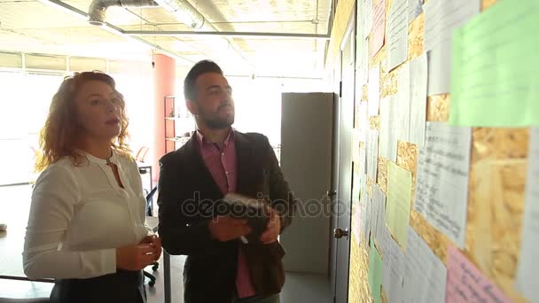 Business people in office interior