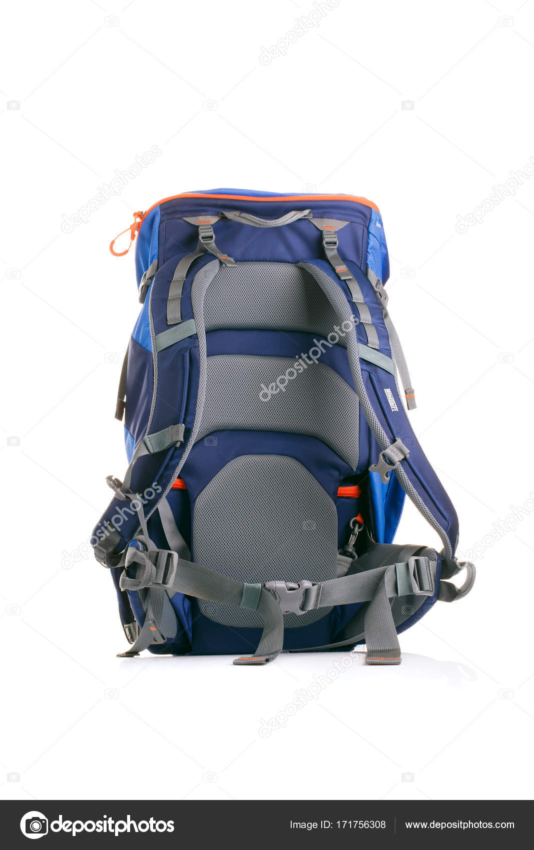 Photo of tourist backpack on white background — Stock Photo © logoff ... fe381f79f2d70