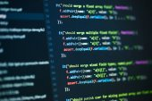 Codice di programmazione di software computer