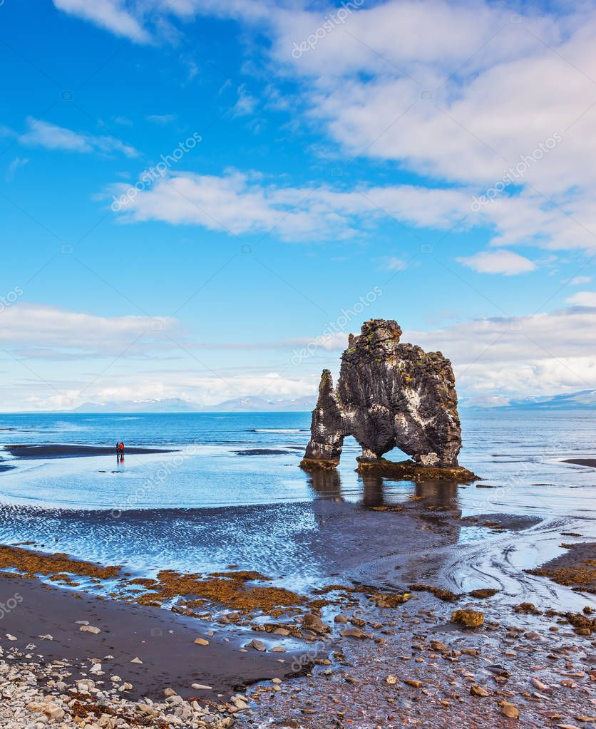 Bay of Huna in Iceland