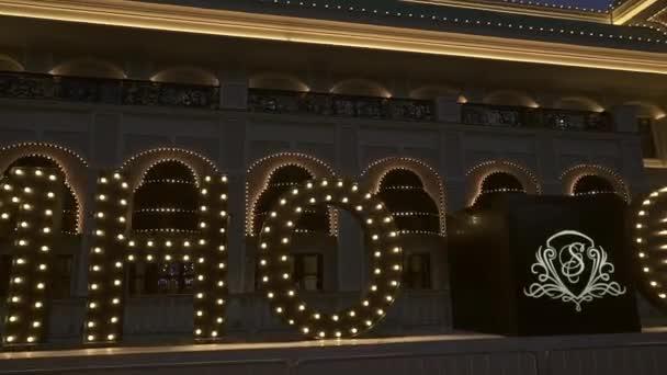 Sochi Resort and Casino gambling zone in Gorky Gorod Krasnaya Polyana stock footage timelapse video