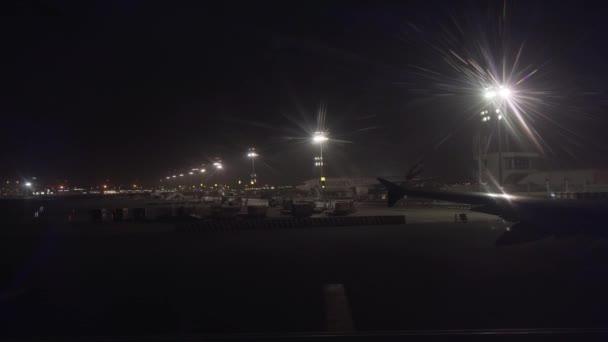Dubai International Airport stock footage video