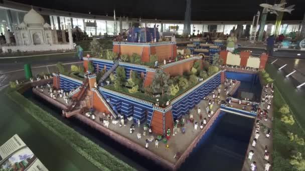 Exposicion De Maquetas Jardines Colgantes De Babilonia Hecho De