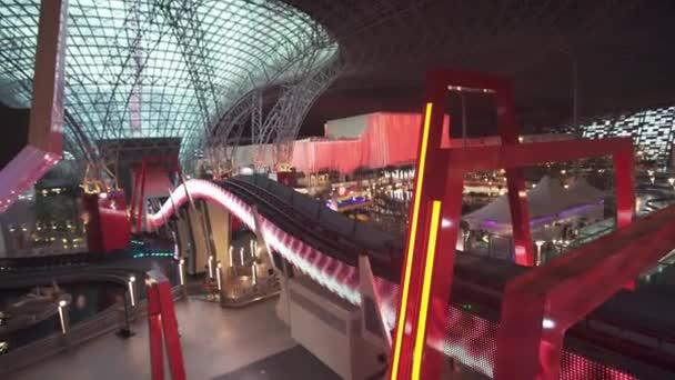 Turbo Track atrakci v zábavním parku Ferrari World Abu Dhabi stopáže videa