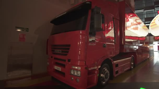 Ferrari World Abu Dhabi stock footage video