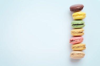 Colorful Sweet macarons