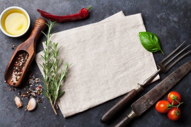 Herbs and spices cooking ingredients