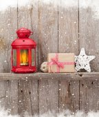 Vánoční Svíčka Lucerna a dekorace