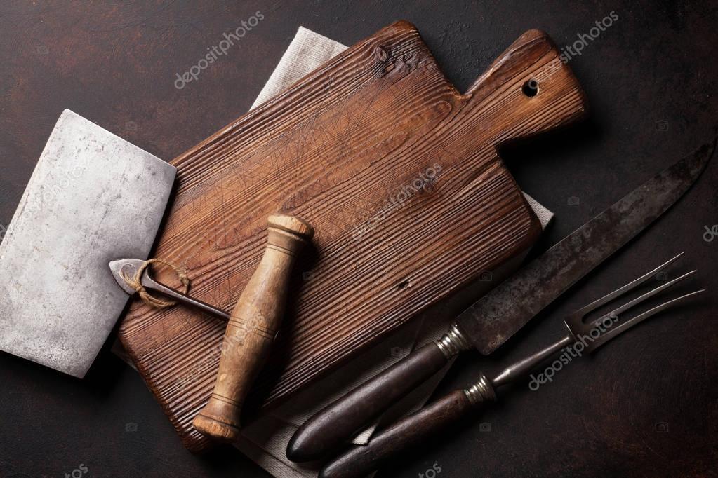 vecchi utensili da cucina — Foto Stock © karandaev #130447900