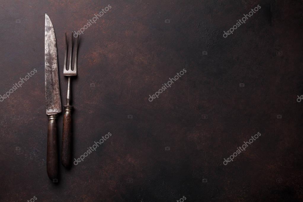 Vecchi utensili da cucina — Foto Stock © karandaev #130447968