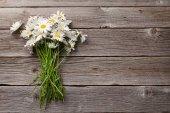Květy heřmánku sedmikráska