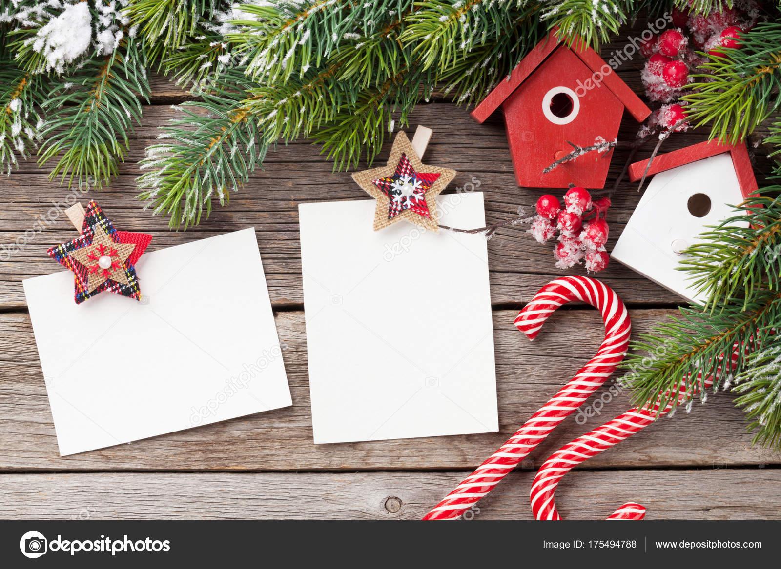 Leere Weihnachtsbilderrahmen — Stockfoto © karandaev #175494788