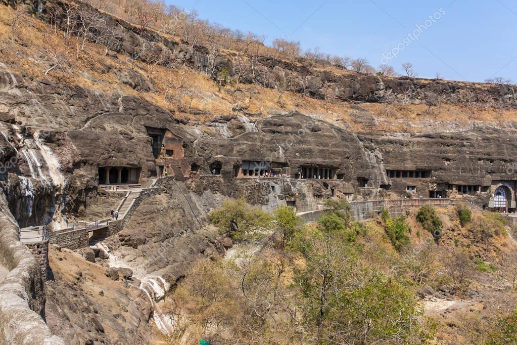 Ajanta caves near Aurangabad