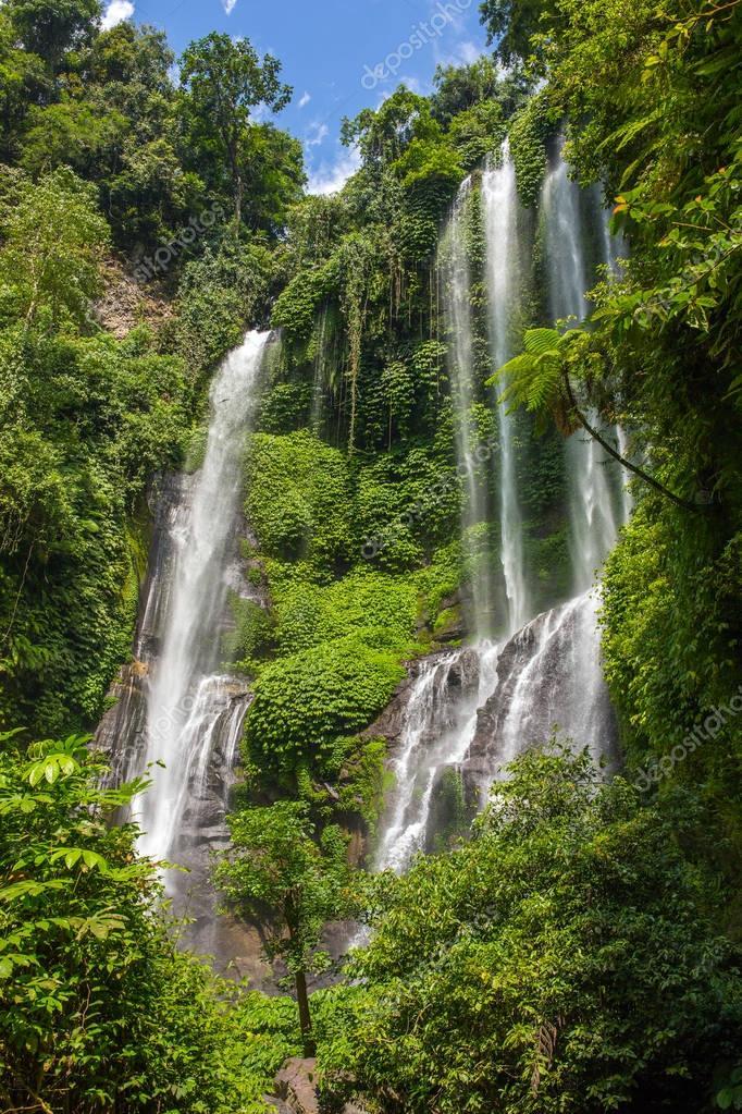 Sekumpul Waterfalls in Bali