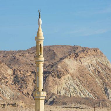 Minaret of the mosque on Qeshm island