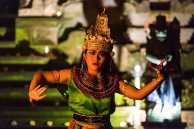 Traditional Kecak Fire Dance ceremony