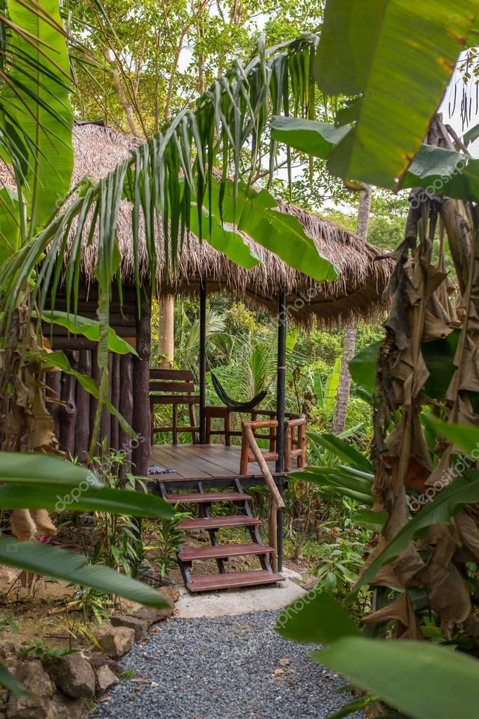 Jungle bungalow resort on Koh Chang island, Thailand