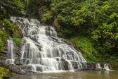 Sloní vodopád v horním Shillong, Meghalaya, Indie