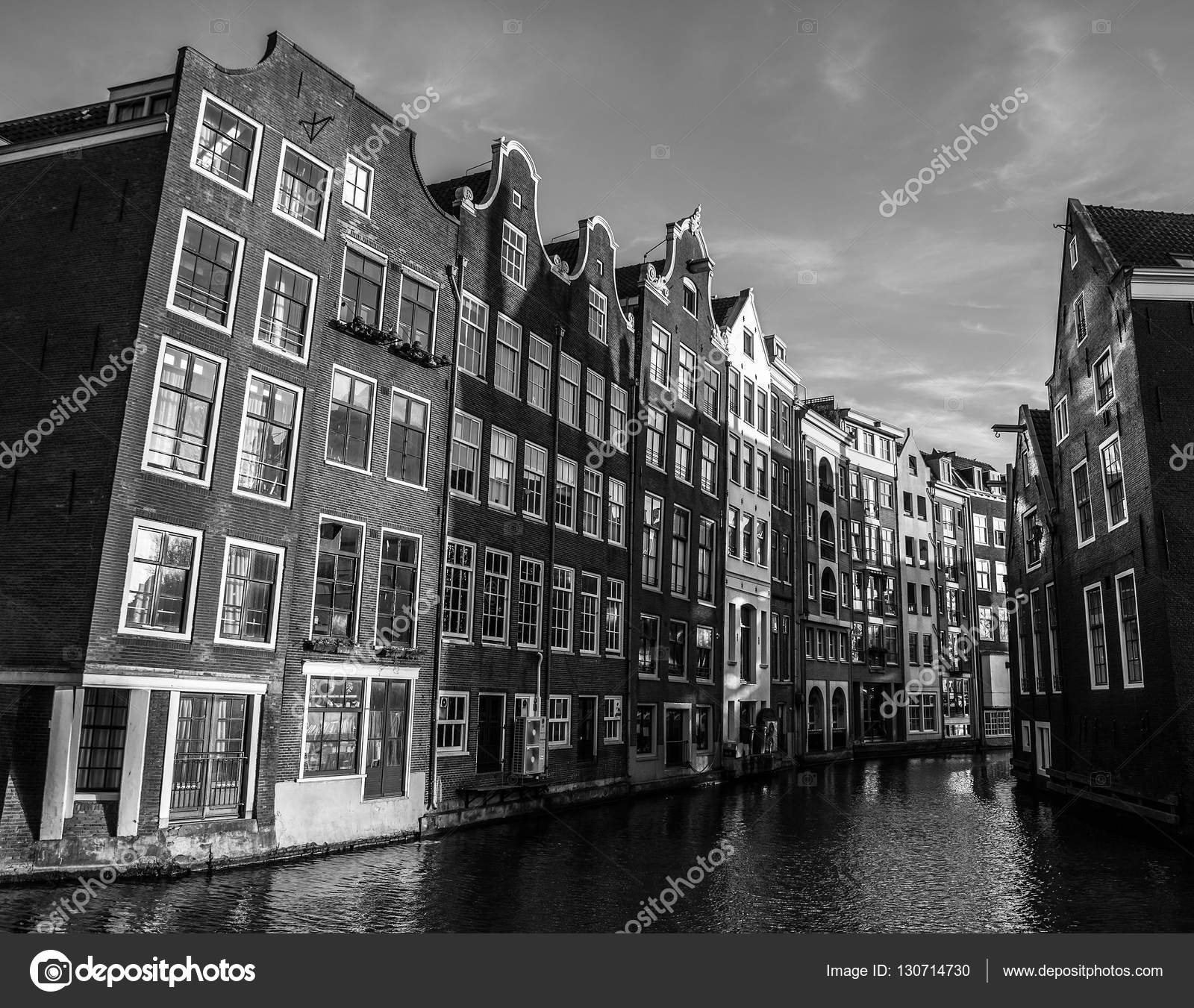 famous architectural buildings black and white. Plain Architectural AMSTERDAM NETHERLANDS  JANUARY 15 2016 Blackwhite Photo Of Famous  Buildings Amsterdam City Centre Closeup At Sun Set Time General Landscape View Throughout Famous Architectural Buildings Black And White T