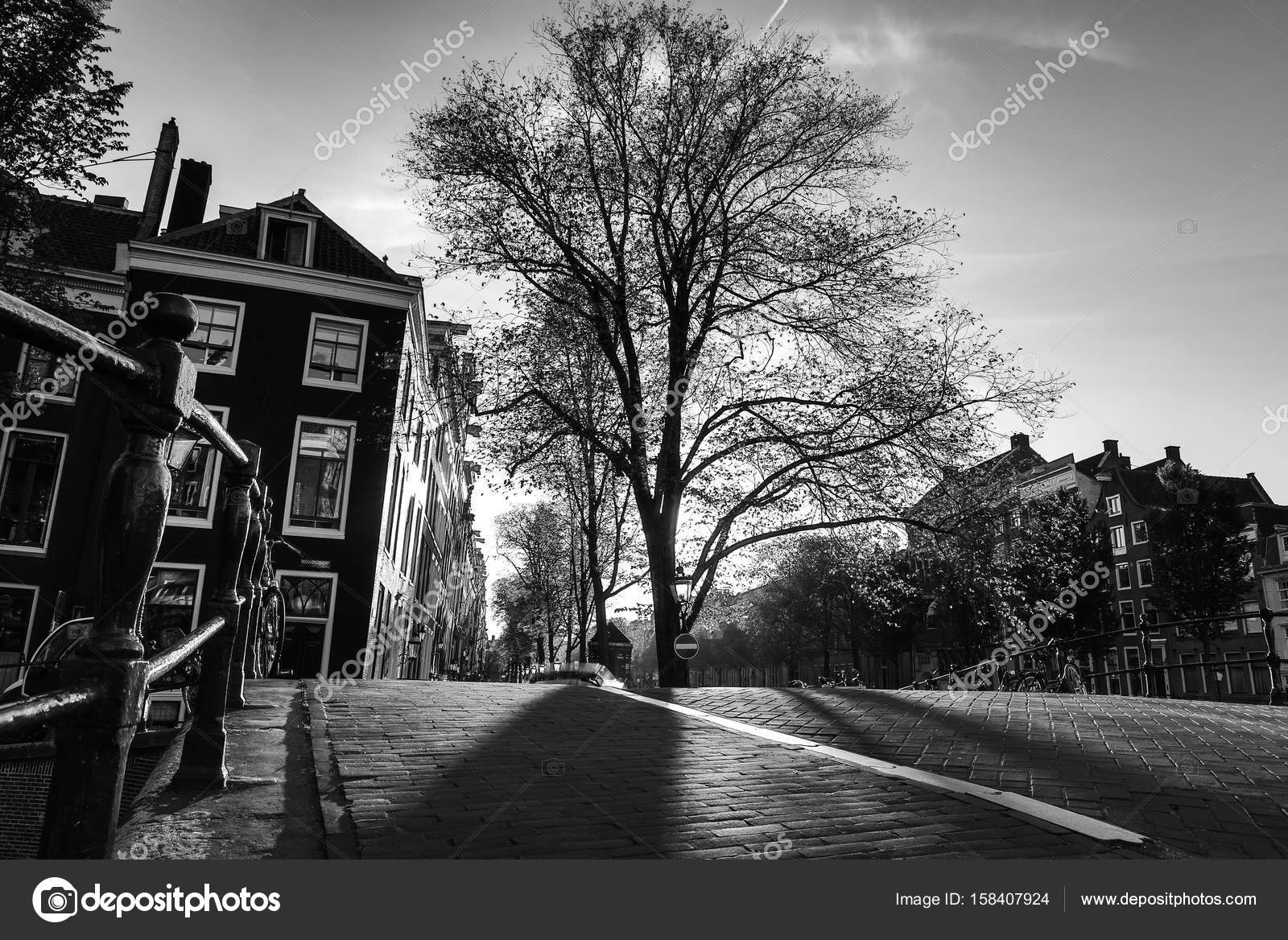 oude zwart wit foto's amsterdam