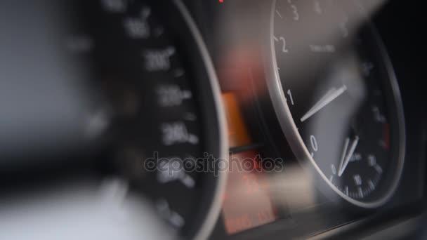 Řídicí panel v auto auto, černá, auta, kruh