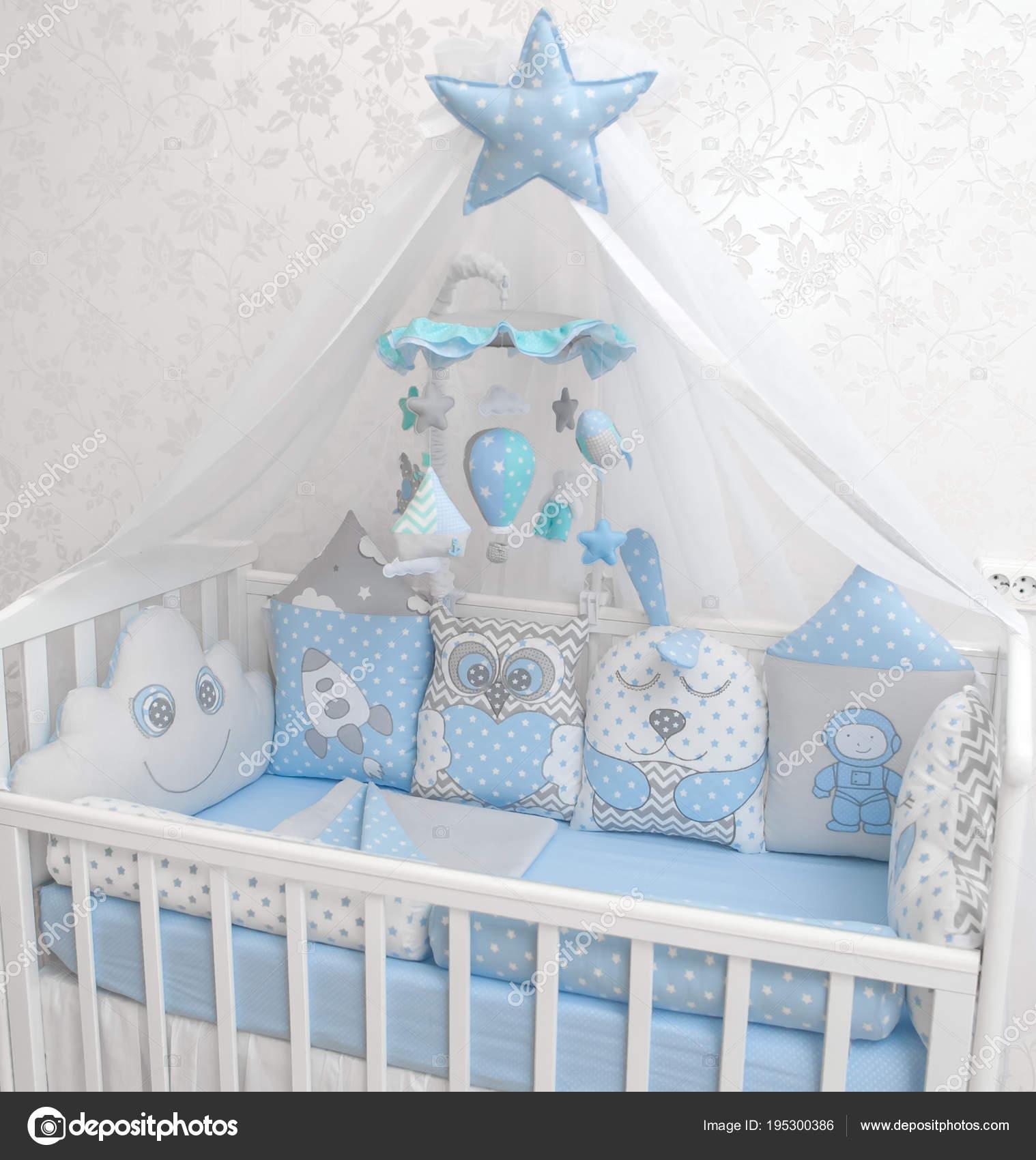 Baby Junge Bettwäsche Set Kinderzimmer Dekor Stockfoto