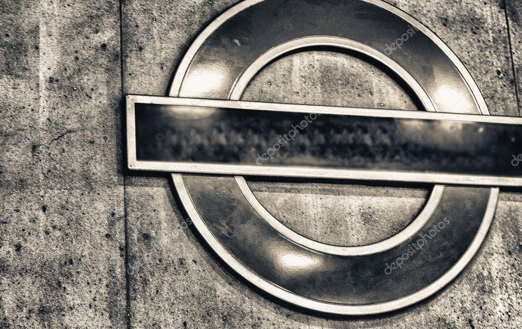 Subway Symbol In London Stock Editorial Photo Jovannig 126147034