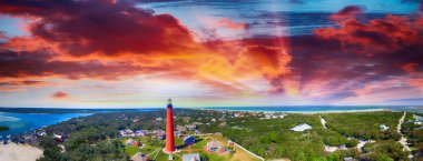 Florida Lighthouse, Ponce de Leon aerial view