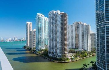 Brickell Key Skyline, Miami - Florida - USA
