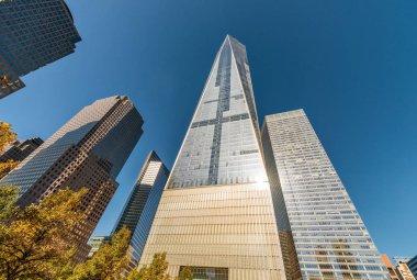 Modern skyline of New York City - Manhattan