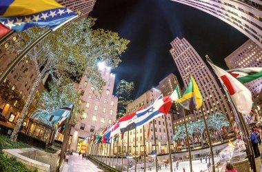 NEW YORK CITY, NY - NOVEMBER 5: Rockefeller Center on Fifth Aven