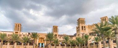 Classic Dubai buildings