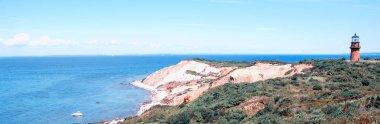 Beautiful landscape of Marthas Vineyard Island