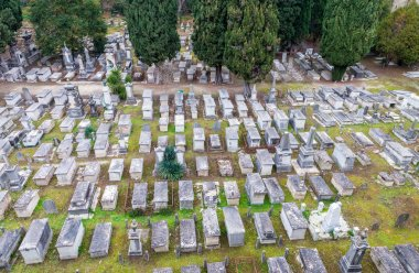 Ancient cemetery near Square of Miracles, Pisa - Italy