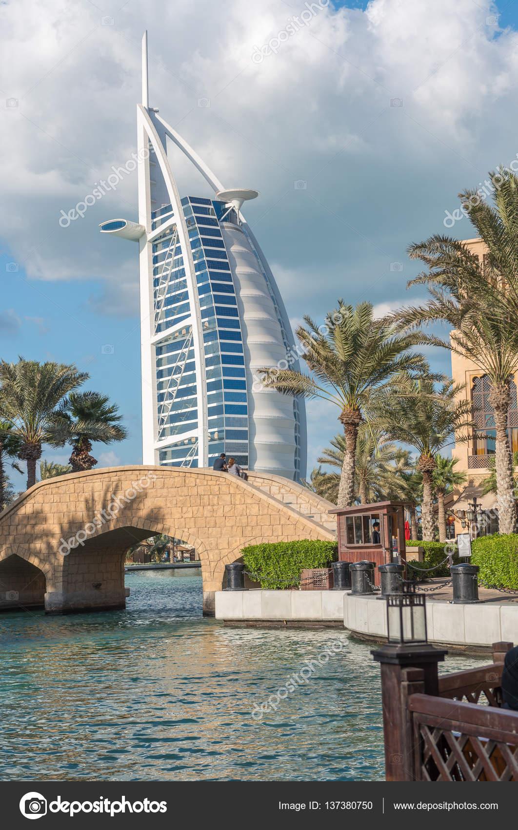 Dubai 11 De Diciembre De 2016 Hotel Más Lujoso Del Mundo Burj Al