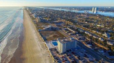 Aerial view of Daytona Beach, Florida