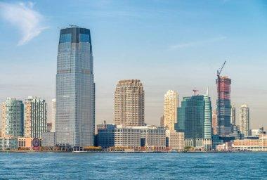 Jersey City skyline, USA