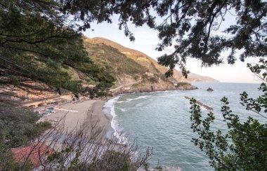 Wonderful view of Monterosso Coast in Liguria, Cinque Terre