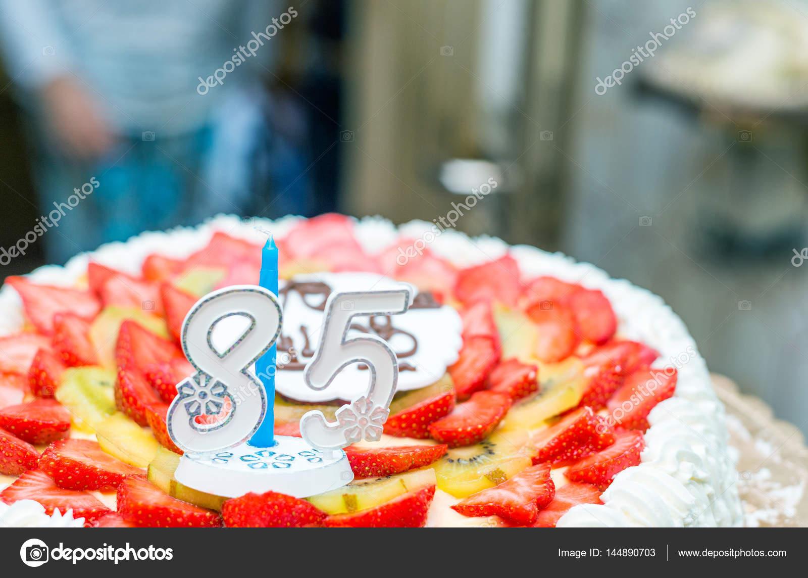85th Birthday Cake Stock Photo Jovannig 144890703