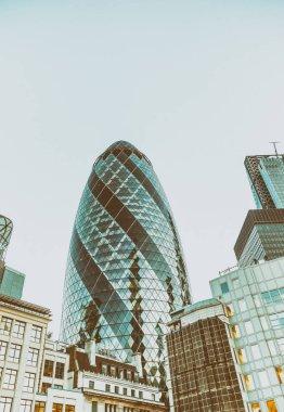 Modern skyline of City of London, UK