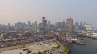 cityscape of Vancouver in British Columbia, Canada, video