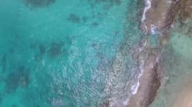 amazing coast at Praslin island, Seychelles. Video