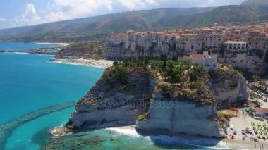 amazing nature of Tropea Coast, Calabria, Italy. Video