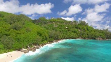 amazing tropical beach and ocean coast, video