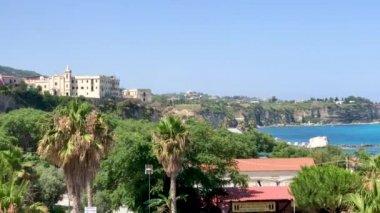 resort town atTropea Coast, Calabria, Italy. Video