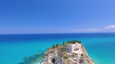 Tropea Coast and castle, Calabria, Italy. Video
