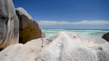 picturesque view of Anse Source D'Argent, La Digue Island, Seychelles