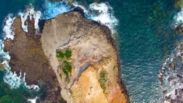 csodálatos tengerpart és az óceán partján, a Cape Schanck, Ausztrália